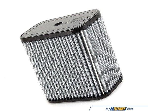 "T#2660 - 11-10116 - aFe ProDry S Air Filter - E90/E92/E93 M3 2008-2009 - This is a drop-in stock replacement aFe performance air filter that installs into your BMW's factory airbox.This version has an oil-free filter media for less maintenance. For the best flowing filter, with the best performance gain, we always recommend the standard aFe ""Pro5R "" filter (which has a blue pre-oiled filter media), but this oil-free filter flows only slightly less than the blue Pro5R  style aFe filter, and requires no re-oiling after cleaning the filter.This item fits the following BMWs:2008-2009  E90 BMW M3 - Sedan - US Spec Only2008-2009  E92 BMW M3 - Coupe - US Spec Only2008-2009  E93 BMW M3 - Convertible - US Spec OnlyEuro Spec cars require Part #11-10119 - AFE - BMW"