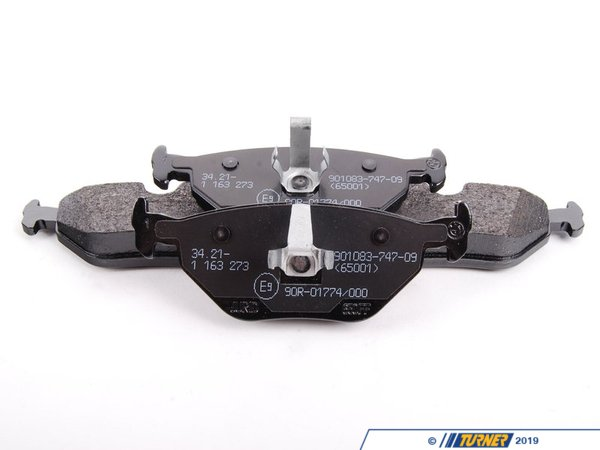 T#62133 - 34212157620 - Genuine BMW Set Of Brake Pads With Wear - 34212157620 - Genuine BMW -