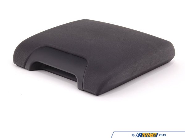 T#8980 - 51167140687 - Genuine BMW Trim Center Arm Rest, Imitation L 51167140687 - Schwarz - Genuine BMW -