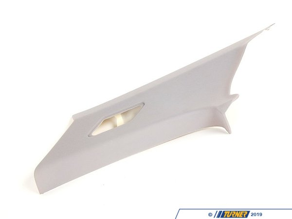 T#9779 - 51438222628 - Genuine BMW Light Gray C-Pillar Cover, Rear Right - 51438222628 - E46 - Genuine BMW - BMW