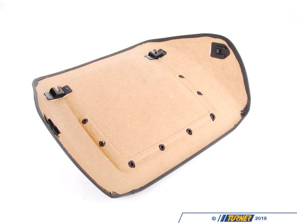 T#13974 - 52108235907 - Genuine BMW Rear Panel With Net Bag Schwarz - 52108235907 - E46,E46 M3 - Genuine BMW -