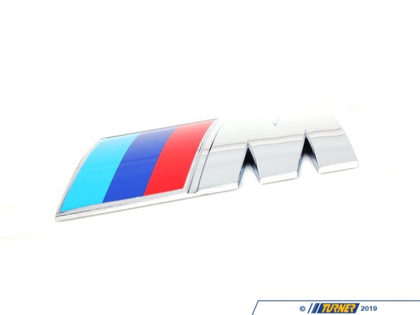 T#23668 - 51148041424 - Genuine BMW Side Emblem Adhered - M - 51148041424 - E85 - Genuine BMW - BMW
