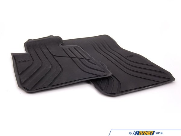Genuine BMW Genuine BMW Basic Line Front Rubber Floor Mat Set 51472219799