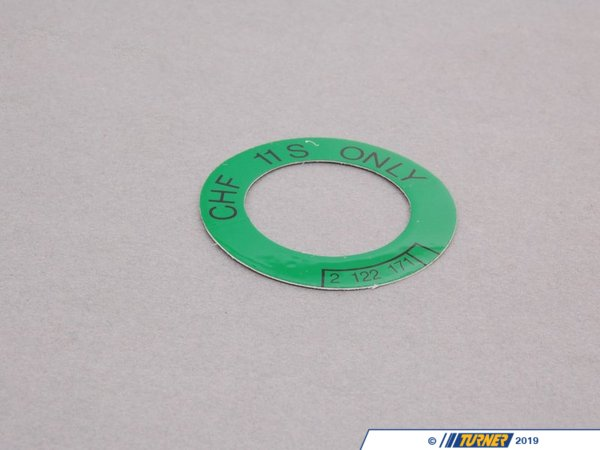 T#156659 - 71212122171 - Genuine BMW Label, Oil Container-power S - 71212122171 - Genuine BMW -