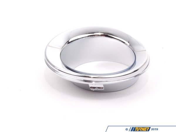 T#76172 - 51117127942 - Genuine MINI Trim Ring, Fog Lamp Right Chrom - 51117127942 - Genuine Mini -