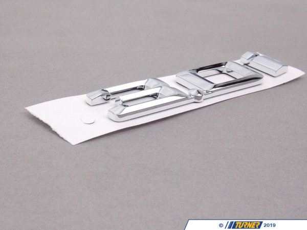 T#81122 - 51147114723 - Genuine BMW Label 3,0 - 51147114723 - E85 - Genuine BMW -