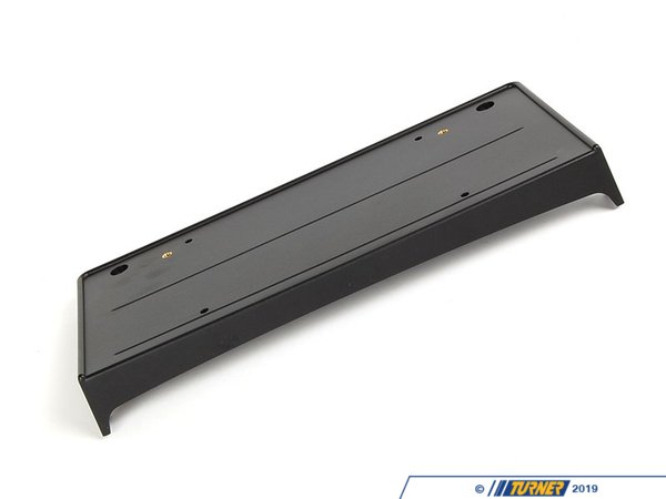T#8375 - 51117058449 - Front License Plate Bracket - E90 - This is the stock Genuine BMW plastic front license plate bracket for E90 3 series.  This item fits the following BMWs:2006-2008  E90 BMW 325i 325xi 328i 328xi 328i xDrive 330i 330xi 335d 335i 335xi 335i xDrive - Sedan - Genuine BMW - BMW