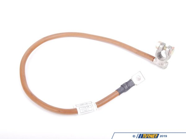 T#39319 - 12421719728 - Genuine BMW Battery Cable Negative L=860mm - 12421719728 - E34 - Genuine BMW -