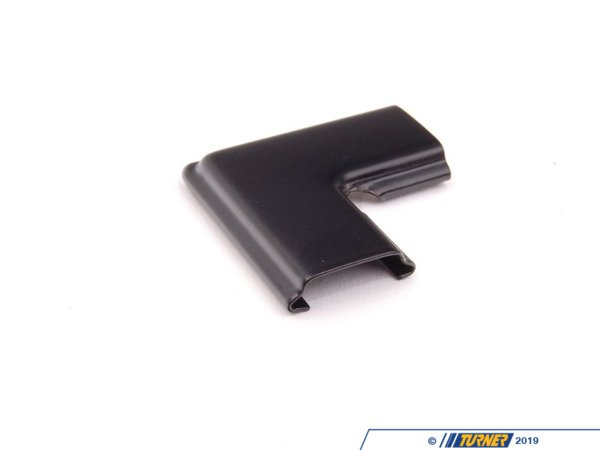 T#9485 - 51311940279 - Black Rear Lockstrip Clip - E30 - 2 required - Schwarz - Genuine BMW -