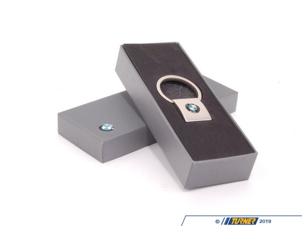 T#166182 - 80560443278 - Genuine BMW Key Ring, Square - 80560443278 - Genuine BMW -