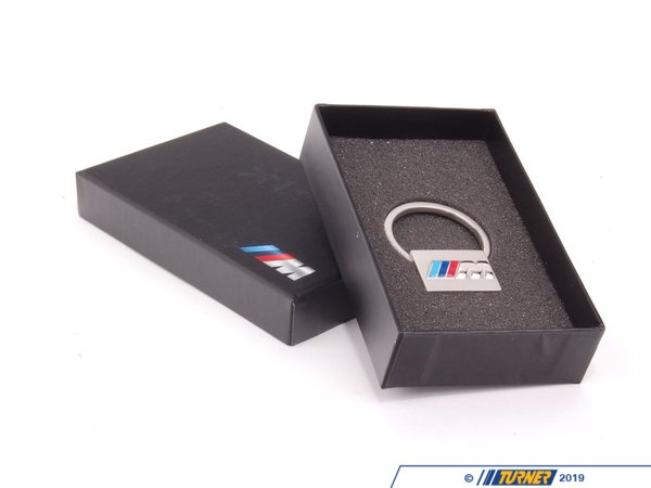 T#176810 - 80272304190 - Genuine BMW M Key Ring In Stainless and Carbon Fiber - 80272304190 - Genuine BMW -