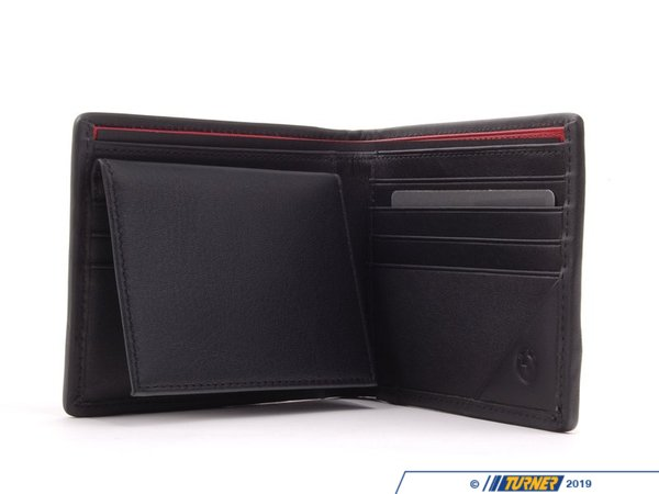 T#163435 - 80212336954 - Genuine BMW Mens M Wallet - Black - 80212336954 - Genuine BMW -