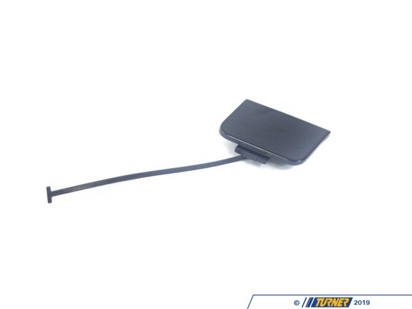 T#4302 - 51117044125 - Genuine BMW Tow Hook Cover - E46 Sedan 2002-2005 with Standard Bumper - This is the small rectangular cover that mounts in the front bumper that covers the tow hook opening. This unit fits the standard front bumper on E46 Sedan's and Wagons from 2002-2005. It does not fit the M-technic or Sport Aerodynamic Package front bumper. This item is unpainted. It needs to be painted to match your exterior color. This item fits the following BMWs:2002-2005  E46 BMW 325i 325xi 330i 330xi  - Genuine BMW - BMW