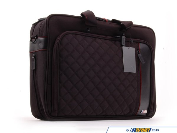 T#163436 - 80212336955 - Genuine BMW M Laptop Bag - 80212336955 - Genuine BMW -