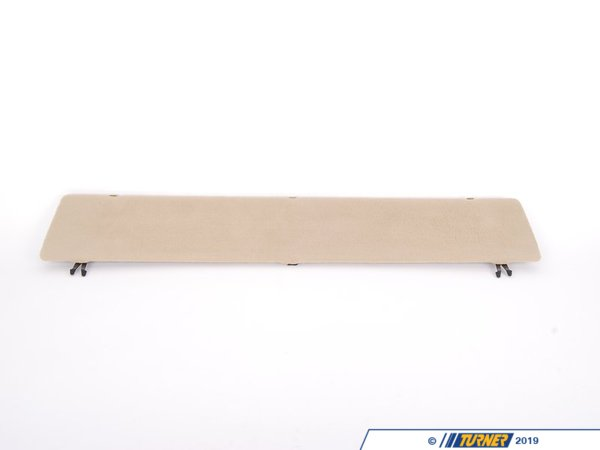 T#115469 - 51497182070 - Genuine BMW Trunk Lid Trim Panel Savannabeige - 51497182070 - Genuine BMW -
