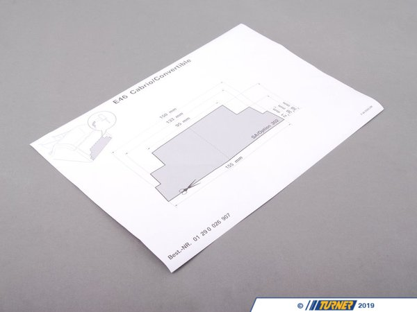 T#26059 - 01290026907 - Genuine BMW Jip - 01290026907 - E46,E46 M3 - Genuine BMW -