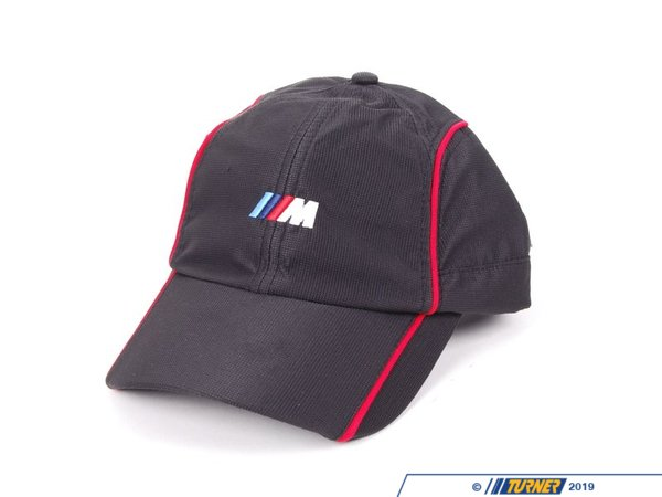 80162149950 genuine bmw m logo hat cap with red piping. Black Bedroom Furniture Sets. Home Design Ideas