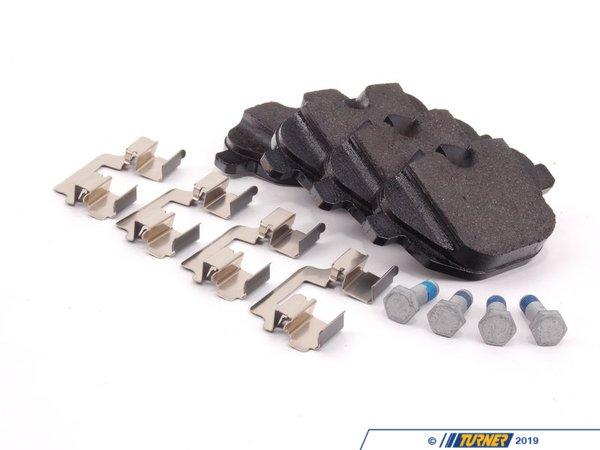 T#19744 - 34216796741 - OEM Rear Brake Pads - E89 Z4 3.5is, F25 X3, i8 - Genuine BMW - BMW