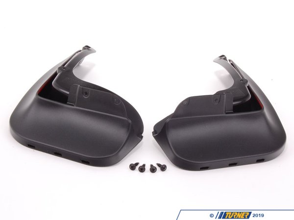 T#24941 - 82162218984 - Genuine BMW Set Mud Flaps, Rear F30/F31 - 82162218984 - F30,F31 - Genuine BMW -