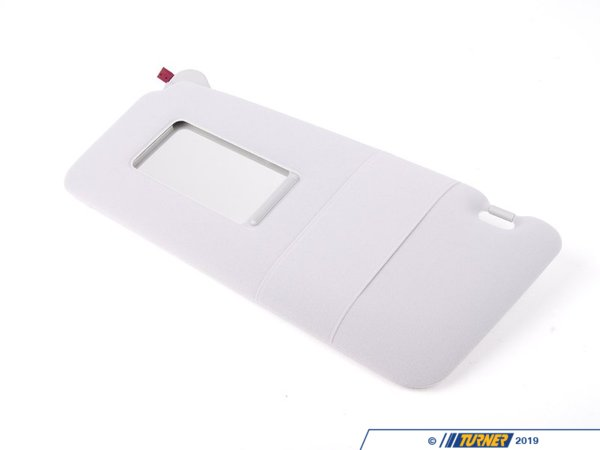 T#86236 - 51168242547 - Genuine BMW Lighted Make-up Sun Visor Le - 51168242547 - Hellgrau - Genuine BMW -