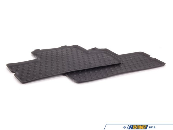 T#110441 - 51472231961 - Genuine MINI Floor Mats, All-weather, Rea - 51472231961 - Genuine Mini -