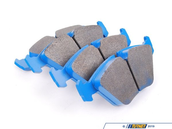 T#3990 - TMS3990 - Hawk Blue Racing Brake Pads - Front - E32, E34, E36 M3, E46 M3, E39 528i, MZ3 - Hawk - BMW