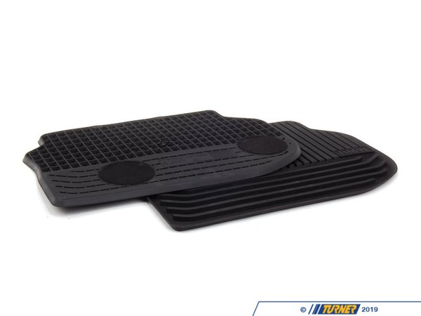 T#110406 - 51472153889 - Genuine BMW All-weather Mat, Rear - 51472153889 - Genuine BMW -