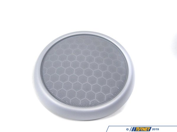 T#96425 - 51417036317 - Genuine MINI Grid, Loudspeaker White Silver - 51417036317 - Genuine Mini -