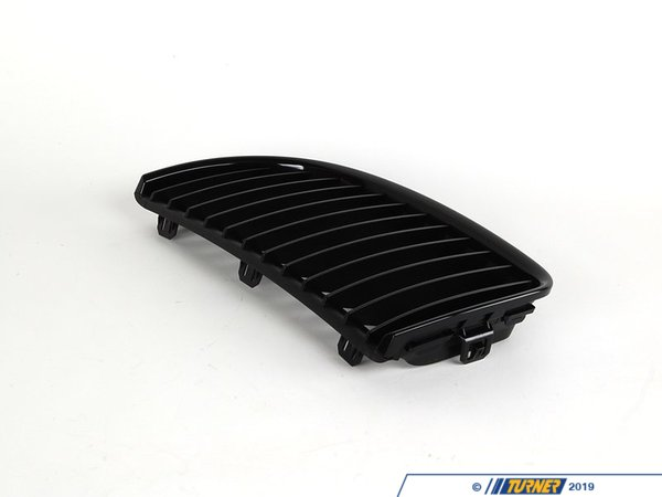 T#5092 - 51712151895 - BMW Black Lower Kidney Grill Left - E90 >2008 - BMW Black Lower Kidney G. - Genuine BMW M Performance - BMW