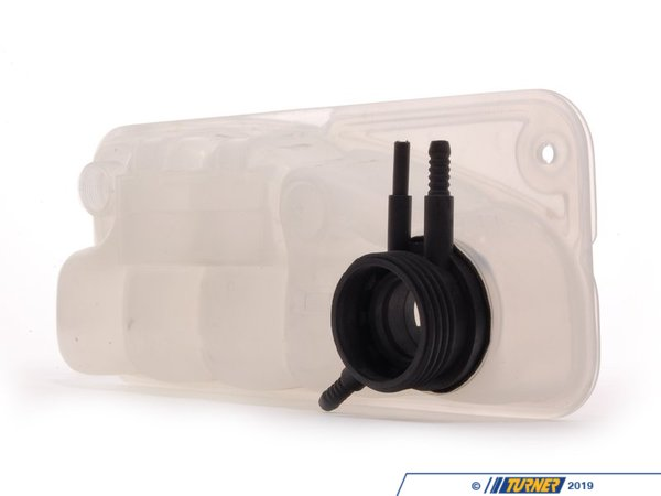 T#45798 - 17112227091 - Coolant Expansion Tank - E34 M5  - This Genuine BMW radiator expansion tank / cooling system reservoir is a direct replacement for the factory unit. If your expansion tank is leaking or cracked replace it today with this original BMW replacement part. Expansion tank cap and coolant level sensor sold separately.When doing any sort of repair or maintenance there is no replacement for genuine factory parts. Turner Motorsport carries the Genuine BMW brand with pride and has the parts you need to complete your next project with confidence.This item fits the following BMWs:1991-1993  E34 BMW M5 3.6 liter - Genuine BMW - BMW