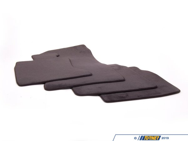 T#24134 - 51479165189 - Genuine BMW Set Of Floor Mats Velours Anthrazit - 51479165189 - F02 - Genuine BMW -
