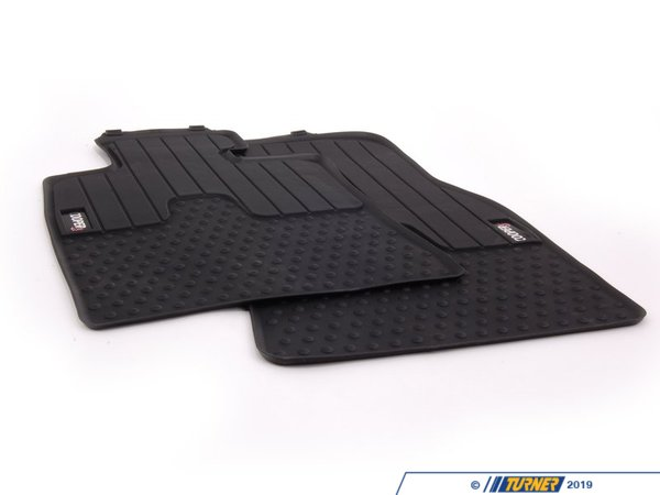 T#24091 - 51472243908 - Genuine MINI Floor Mats, All-weather, Fro - 51472243908 - Genuine Mini -