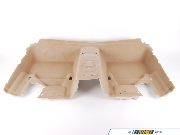 T#112239 - 51477265892 - Genuine BMW Floor Covering Rear Beige - 51477265892 - E90 - Genuine BMW -