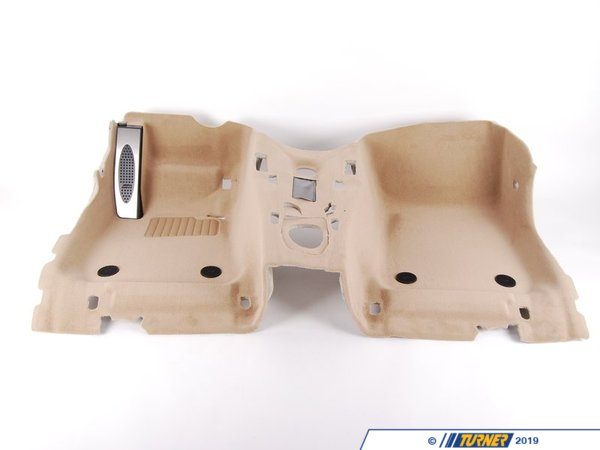 T#112233 - 51477265868 - Genuine BMW Floor Covering Front -M- Beige - 51477265868 - E90 - Genuine BMW -