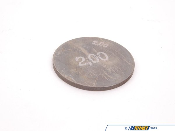 T#34394 - 11341404878 - Genuine BMW Plate 2,00 mm - 11341404878 - E34,E34 M5 - Genuine BMW -
