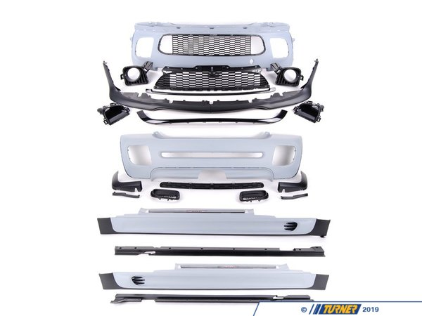 T#21917 - 51192154643 - Genuine MINI Aerodynamic Package Primed - 51192154643 - Genuine Mini -