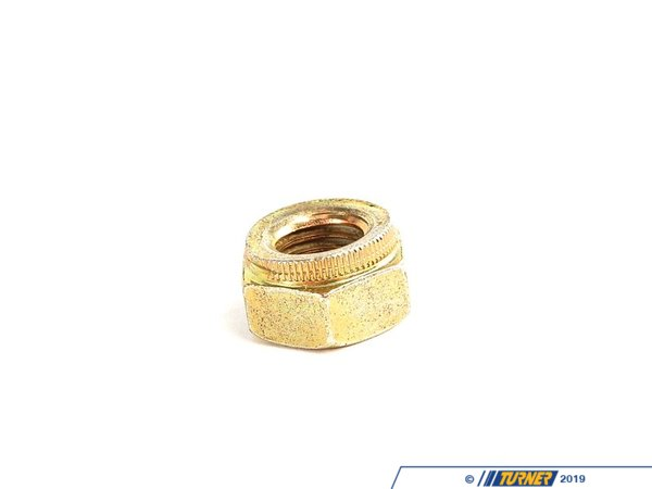 Genuine BMW Genuine BMW Self-Locking M10 Hex Nut - E30, E34, E36, E38, E39 07129964672