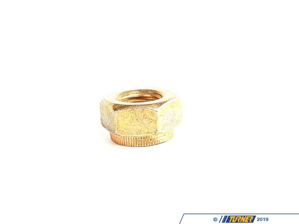 T#6543 - 07129964672 - Genuine BMW Self-Locking Hex Nut - 07129964672 - E30,E34,E36,E38,E39 - Genuine BMW -
