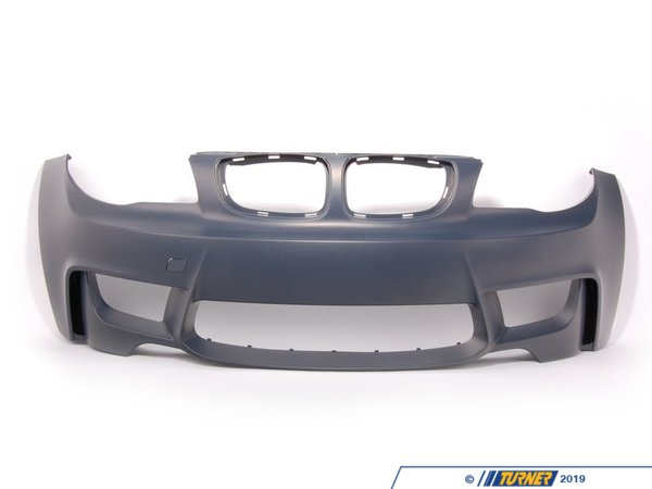 T#77240 - 51118057717 - Genuine BMW Trim Cover, Bumper, Primered, Front - 51118057717 - E82 - Genuine BMW -
