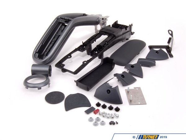 T#81415 - 51160398467 - Genuine MINI Installing Set Armrest Anthrazit - 51160398467 - Genuine Mini -