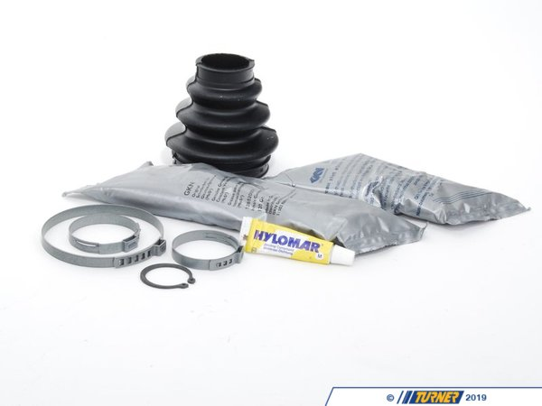 T#59887 - 33217840674 - Rear Axle CV Boot Repair Kit - Outer - E46 E85 - Genuine BMW - BMW