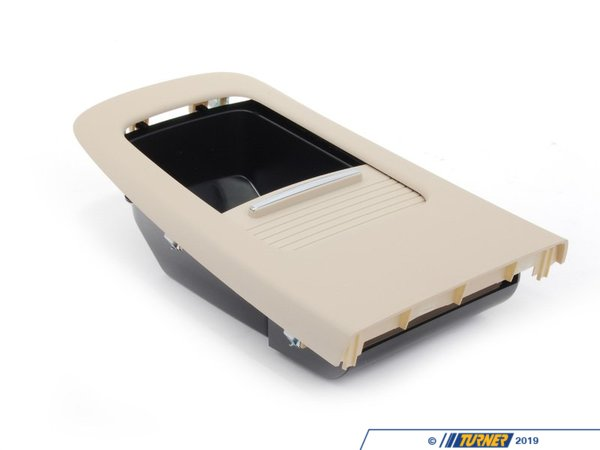 T#82782 - 51166963915 - Genuine BMW Cover, Rear Console, Rear - 51166963915 - Creambeige - Genuine BMW -