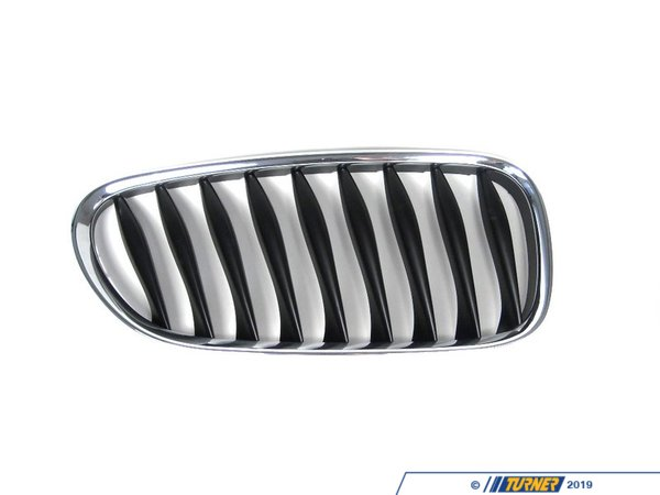 T#23557 - 51137051958 - Kidney Grill - Chrome - Right - E85 E86 Z4 2.5i, 3.0i, 3.0si, Z4M - Genuine BMW - BMW