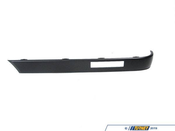T#8481 - 51121971617 - Rear Bumper Impact Strip - Left - E30 6/1988-1991 - Genuine BMW - BMW