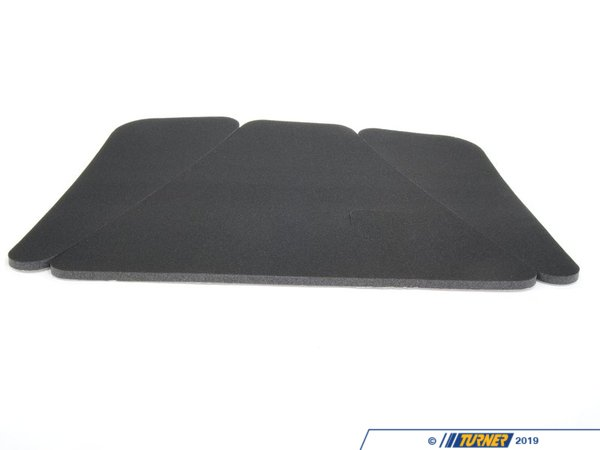 T#25363 - 51488103798 - Genuine BMW Hood Insulation Foam - E30 325i 325is 325ic 325ix - Freshen the appearance of the under hood area on your E30 by replacing your tattered and disintegrating hood insulation foam with this new Genuine BMW sound insulation set.   This set includes all 3 pieces, left, right and center.   This item fits the following BMWs:1984-1991  E30 BMW 318i 318is 318ic 325e 325es 325i 325ic 325is 325ix - Genuine BMW - BMW