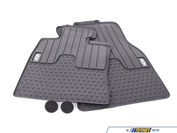 T#110439 - 51472231957 - Genuine MINI Floor Mats, All-weather, Fro - 51472231957 - Genuine Mini -