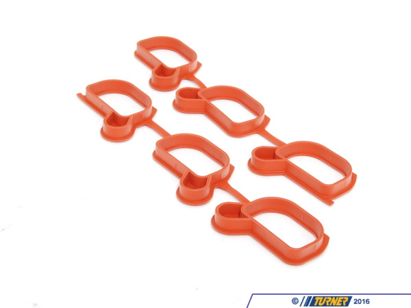 T#2859 - 11611436631 - Intake Manifold Gasket Set - E46 E39 E60 X3 X5 Z3 Z4 with M52TU or M54 engine - Elring - BMW