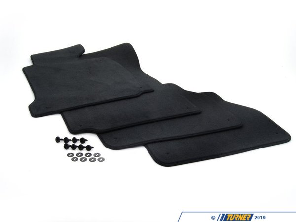 T#113051 - 51478216208 - Genuine BMW Set Of Floor Mats Velours Anthrazit - 51478216208 - Genuine BMW -