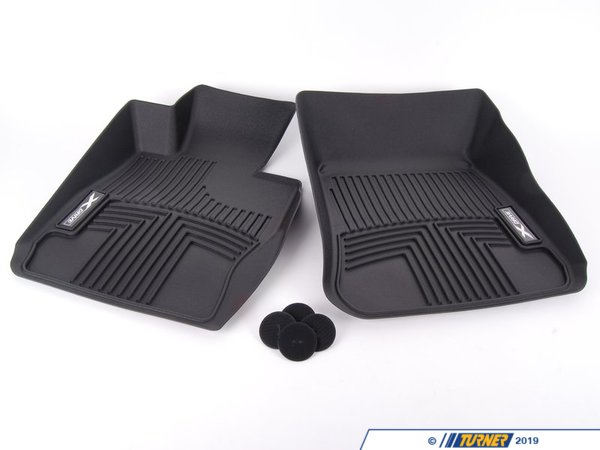 T#176882 - 82112210408 - Genuine BMW All Weather Floor Liners, Fr - 82112210408 - Genuine BMW -