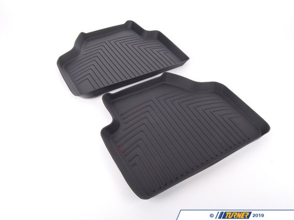 T#176883 - 82112210409 - Genuine BMW All Weather Floor Liners, Re - 82112210409 - Genuine BMW -